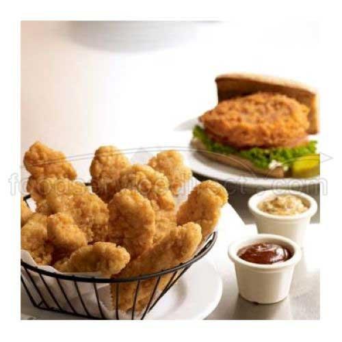 Tyson Red Label Homestyle Breaded Chicken Breast Tender Premium Boneless Wing, 5 Pound -- 2 per case.