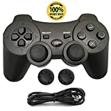 PS3 Controller, Wireless Bluetooth Gamepad Double Vibration Six-Axis Remote Joystick for Playstation...