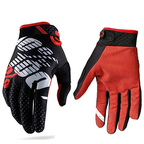 Guantes carreras motocross hombres mujeres;