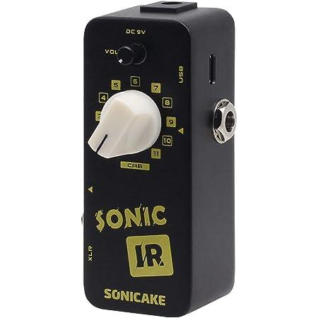 SONICAKE Sonic IR Speaker Cabinet Simulator Impulse Response Loader Guitar Bass Effects Pedal