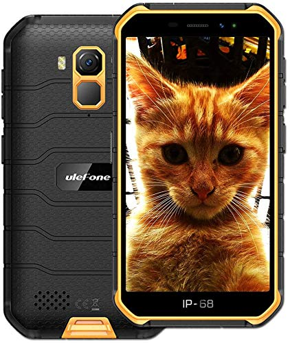 Ulefone ARMOR X (2020) 4G Rugged smartphone, MTK6761 Octa-core 2GB + 16GB, Telefono Resistente Ip68 Impermeabile Android 10.0, Dual SIM, Batteria 4000mAh, NFC GPS ARANCIA