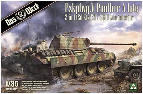 Das Werk 1/35 DW35011 Panther A Late 2in1