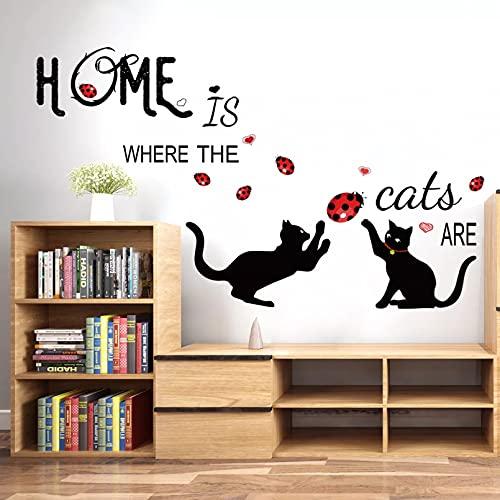 Pegatinas de pared de dibujos animados, papel tapiz de animales de pared de vinilo, sala de estar para niños, dormitorio, decoración del hogar, póster artístico