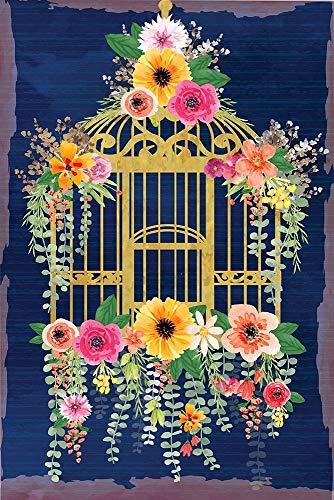Bird Cage Poster Print by ND Art ND Art (24 x 36)