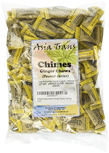 Chimes Peanut Butter Ginger Chews, 16...