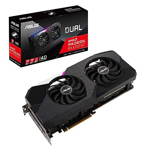 ASUSTek AMD Radeon RX6700XT 搭載 デュアルファンモデル 12GB DUAL-RX6700XT-12G