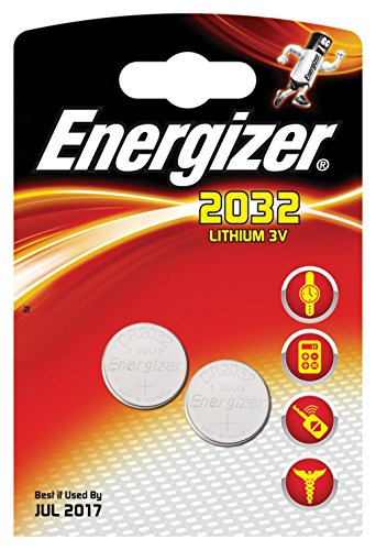 ENERGIZER Lot de 6 Blisters de 2 Piles Lithium CR 2032 3V