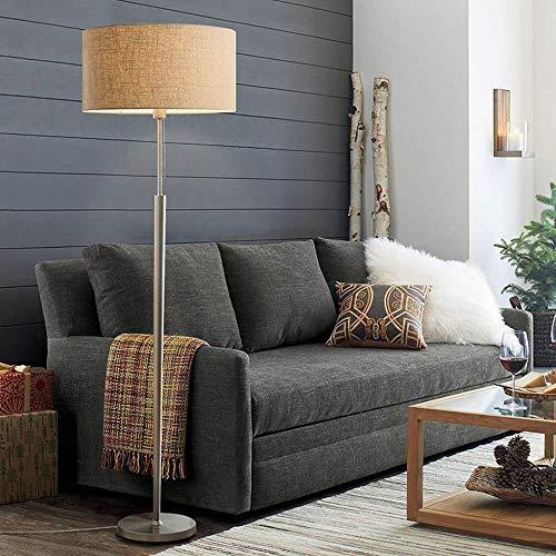 W-SHTAO L-WSWS Lámpara de pie, Simples Modernos nórdicos de pie luminarias de Sala Dormitorio Creativas Verticales Opciones del Color Dos del Estudio, Tirar del Interruptor de línea Bombilla incluida