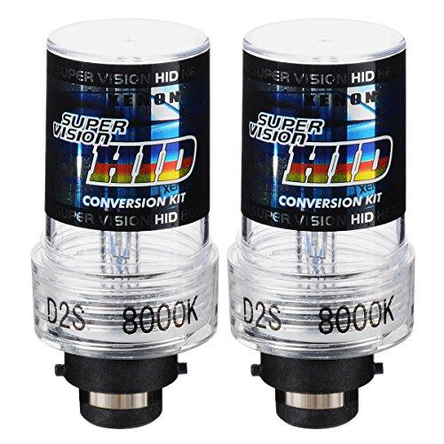 XCSOURCE 2pcs Ampoule HID Xenon Phare Avant 35W 8000K D2S Voiture 12V MA337