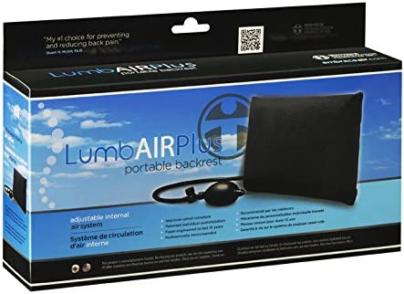 Embrace Air Formerly Year-end gift Lumb-Air Plus Sup Adjustable Back Popular overseas Black