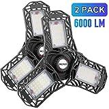 Best Garage Lights - LED Garage Lights, 2 Pack LED Garage Ceiling Review
