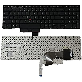 Amazon Com New Laptop Us Keyboard Replacement For Lenovo Ibm Thinkpad Edge E520 E525 0a62038 04w2236 Us Layout Black Color Computers Accessories