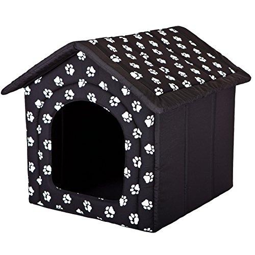 Hobbydog - Caseta para Perro, tamaño 3, Color Negro con Pat