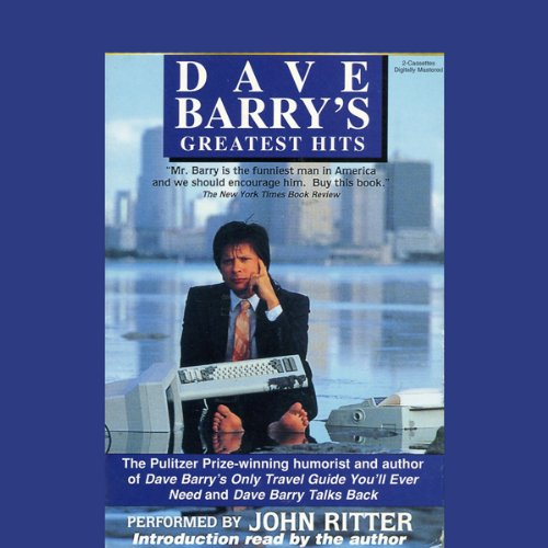 Dave Barry's Greatest Hits audiobook cover art