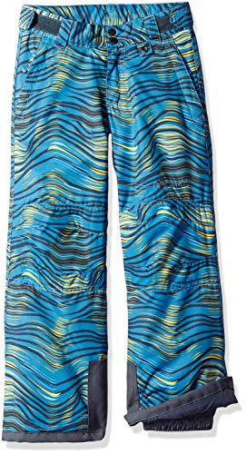 Arctix Kids Snow Pants with Reinforced Knees and Seat, Blue Wave, Small