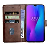 Baiyian Leather Case Wallet Flip Cover compatible with