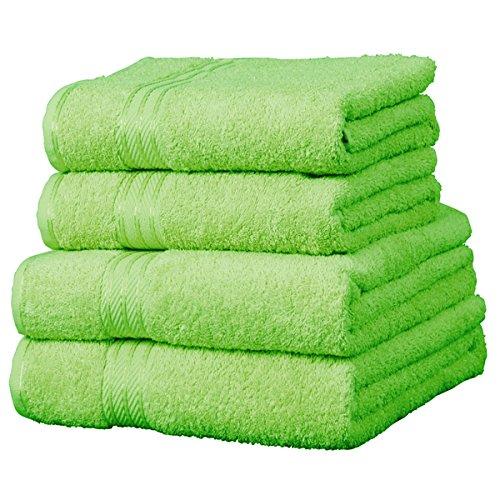 Linens Limited Supreme - Handtuch aus 100% ägyptischer Baumwolle - Limettengrün - 50 x 85 cm