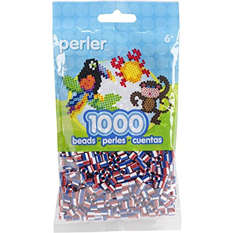 Perler Beads Fuse Beads for Crafts, 1000pcs, Patriotic Red, White, and Blue klgnxjhdq143