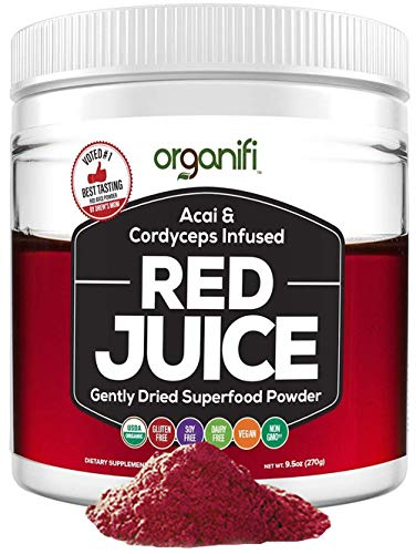 Organifi: Red Juice - Organic Superfood Supplement Powder - 30-Day Supply - Organic -...