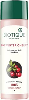 Biotique Bio Wintercherry Lightening And Rejuvenating Body Nourisher, 190ml