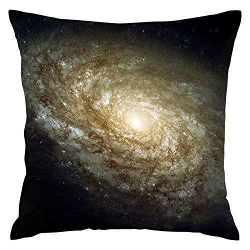 N\A Funda de cojín, Funda de Almohada para el hogar, sofá, sillón, Asiento Trasero, Espacio, Galaxia Espiral