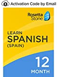 Rosetta Stone: Learn Spanish (Spain) for 12 months on iOS, Android, PC, and Mac [Activation Code by Email]