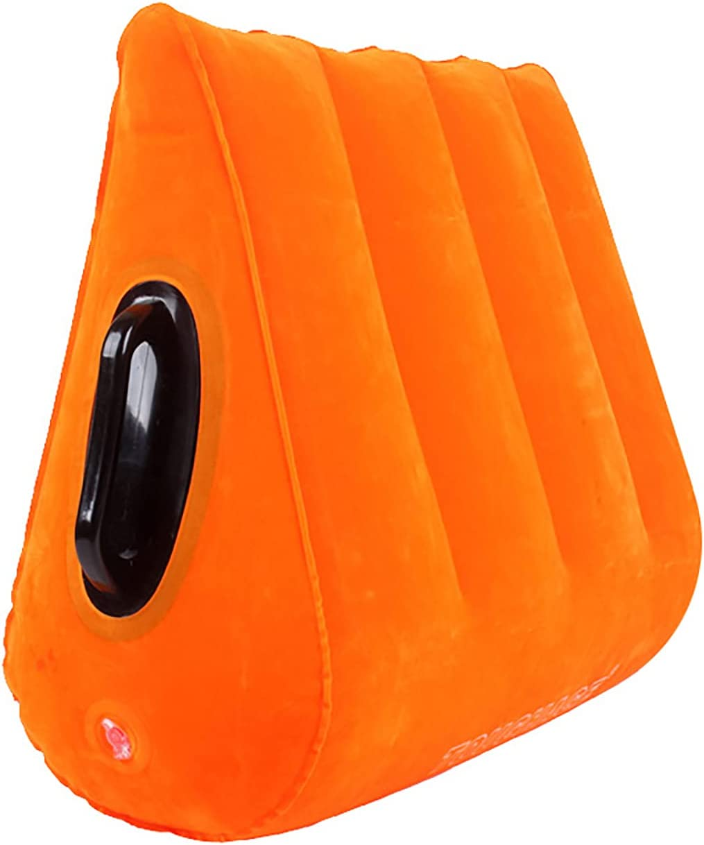 Inflatable Lǐbërâtőr Wedge for Wholesale Pillow Super popular specialty store Orange
