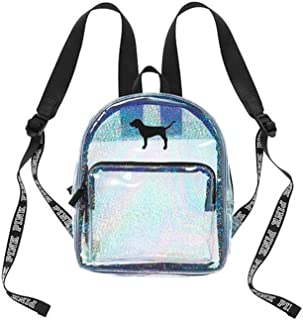 VICTORIA SECRET - PINK - JELLY Backpack SOLD OUT - LIMITED EDITION CLEAR JELLY TOTE WITH VS DOG / PUP