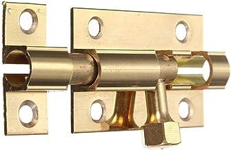 35mm messing kleine klink houten deurslot antieke deur bout koperen decoratieve deur en raam deur gesp security (Color : O...