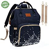 Baby Diaper Bag Backpack – Large Diaper Backpack for Mom Dad with...