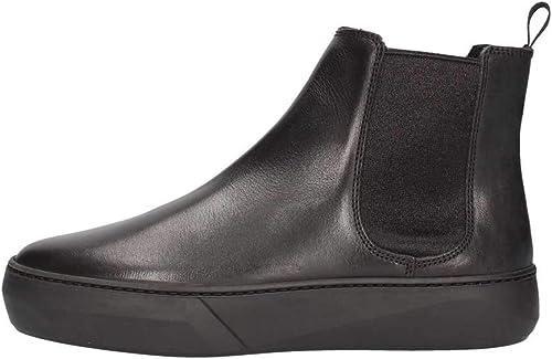 FRAU 40M1 negro zapatos mujer Botines Botines Cuero Beatles