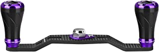ゴメクサス (Gomexus) パワー リール ハンドル カスタム シマノ (Shimano) リール 用 17 バスワン XT 16 アルデバラン BFS スコーピオン DC など 用 カーボン 90mm 100mm ノブ付き