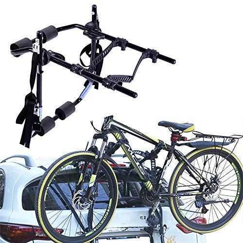 ZLMFBMStomsHan Portaequipajes para Bicicletas para 2 Bicicletas, portabicicletas para Bicicletas y Autos...