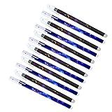 STOBOK Pluma de firma borrable, 24pcs 0. 5 pluma de gel borrable Constelaciones Bolígrafos de tinta de gel de plástico Bolígrafos Chic Frixion Bolígrafos Escritura Plumas