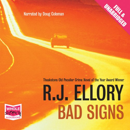 Bad Signs audiobook cover art