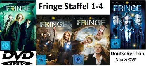 Fringe - Grenzfälle des FBI: Staffel 1-4