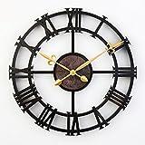 Orologio Digitale dell'orologio del Ferro dell'immagine del Muro di Orologio Creativo dell'orologio dell'orologio Nazionale 43 * 43CM (Colore : #1)