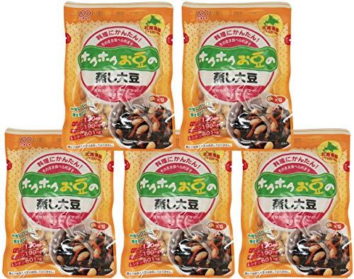 ニチレト ホクホクお豆の蒸し大豆 100g×5袋
