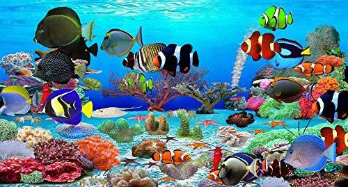 Puzzel 35 Stukjes Zwemmende Vissen, Educatieve Spellen, Puzzelgeschenken Voor Vrienden