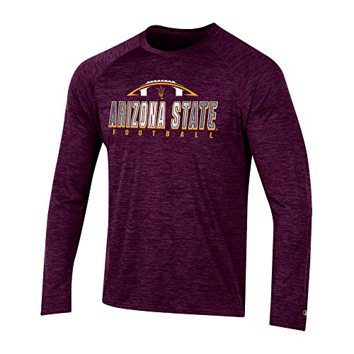 NCAA Long Sleeve Raglan Tee (Many Teams)
