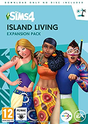 The Sims 4 Island Living Expansion Pack (PC Digital Download Code in a Box)