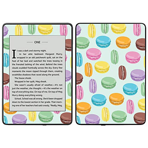 MightySkins Skin Compatible with Amazon Kindle Paperwhite 2018 (Waterproof Model) - Macarons | Protective, Durable, and Unique Vinyl Decal wrap Cover | Easy to Apply, Remove| Made in The USA