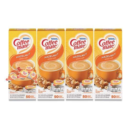 C-Coffee Mate Hazelnut 50Ct Case Denver Mall Pk 4Pk Louisville-Jefferson County Mall