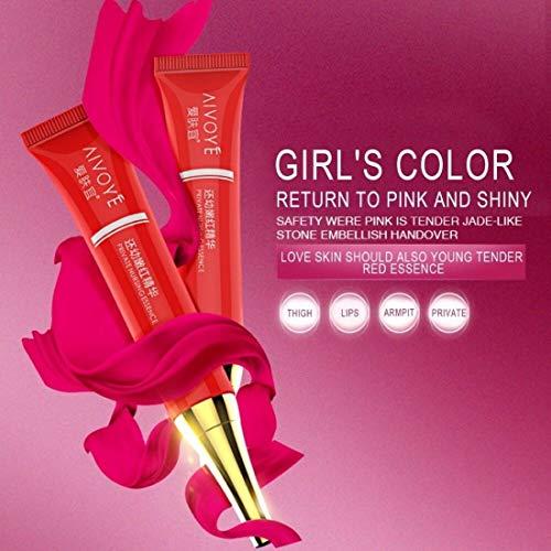 Digital Shoppy Aivoye Lip Private Part Nipple Bleaching Whitening Fresh Up Pinkish Cream-15ML