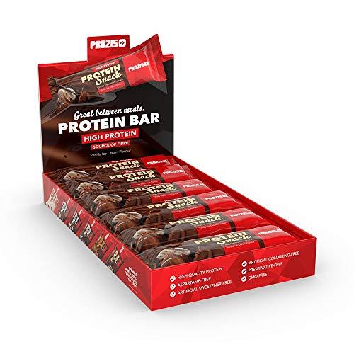 Prozis Pro Snack, Helado de vainilla - 12 x 30 g