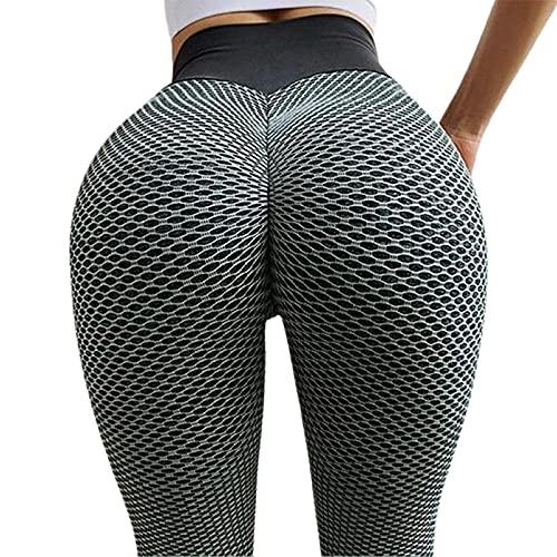 Pantalones de yoga para mujer Scrunch Butt Naked-Feel Fabric Sport Gym Leggings Mujer de cintura alta Pantalones de entrenamiento de fitness Medias elásticas Push Up