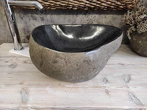 Lavabo de piedra 1ª selección alta calidad 83 Medida 47 x 38 cm Fotos reales del lavabo lavabo de baño fregadero fregadero baño baño de apoyo