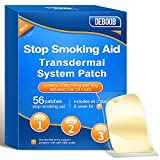 Stop Smoking Patchto Quit Smoking,56 CountStep 1, Step 2, Step 3Stop Smoking Aids Patches,Easy and Effective to Quit Smoking,Harmless Stop Smoking aid