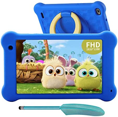 AEEZO Kids Tablet 7 inch WiFi Android 10 Tablet PC 2020 New FHD 1920x1200 IPS Screen 2GB RAM product image