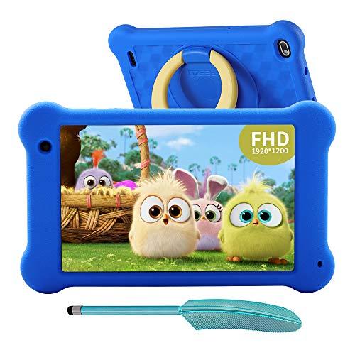 Aeezo Kids Tablet 7-Zoll WiFi Android 10 Tablet PC 2021 New FHD 1920x1200 IPS Screen, 2 GB RAM 32 GB ROM